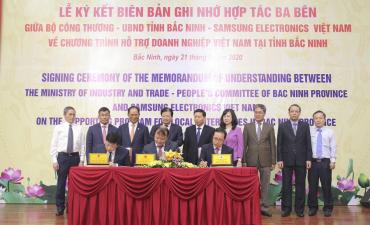 SAMSUNG Việt Nam hỗ trợ doanh nghiệp phát triển công nghiệp phụ trợ