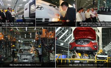 TRƯỜNG HẢI ( THACO ) với chiến lược nội địa hóa linh kiện ô tô quy mô lớn