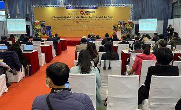 Khai mạc triển lãm quốc tế về công nghiệp hỗ trợ và chế biến chế tạo