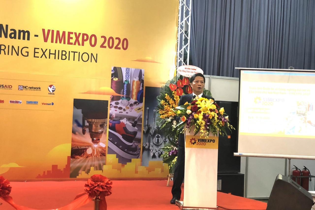 Khai mạc triển lãm quốc tế về công nghiệp hỗ trợ và chế biến chế tạo Việt Nam - Ảnh 1.