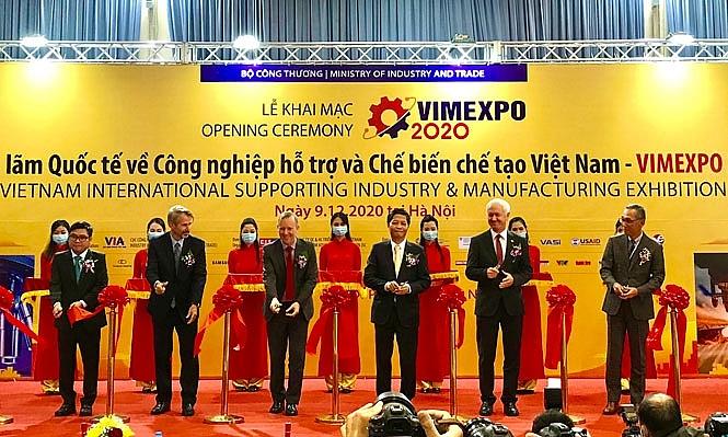 Lần đầu tiên Việt Nam tổ chức Triển lãm công nghiệp hỗ trợ