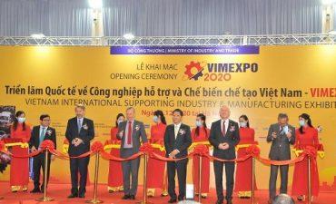 Khai mạc Triển lãm Quốc tế về Công nghiệp hỗ trợ và Chế biến chế tạo Việt Nam