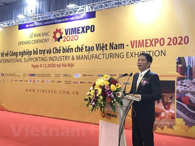 VIMEXPO 2020: Cau noi doanh nghiep noi-ngoai ve cong nghiep ho tro hinh anh 1